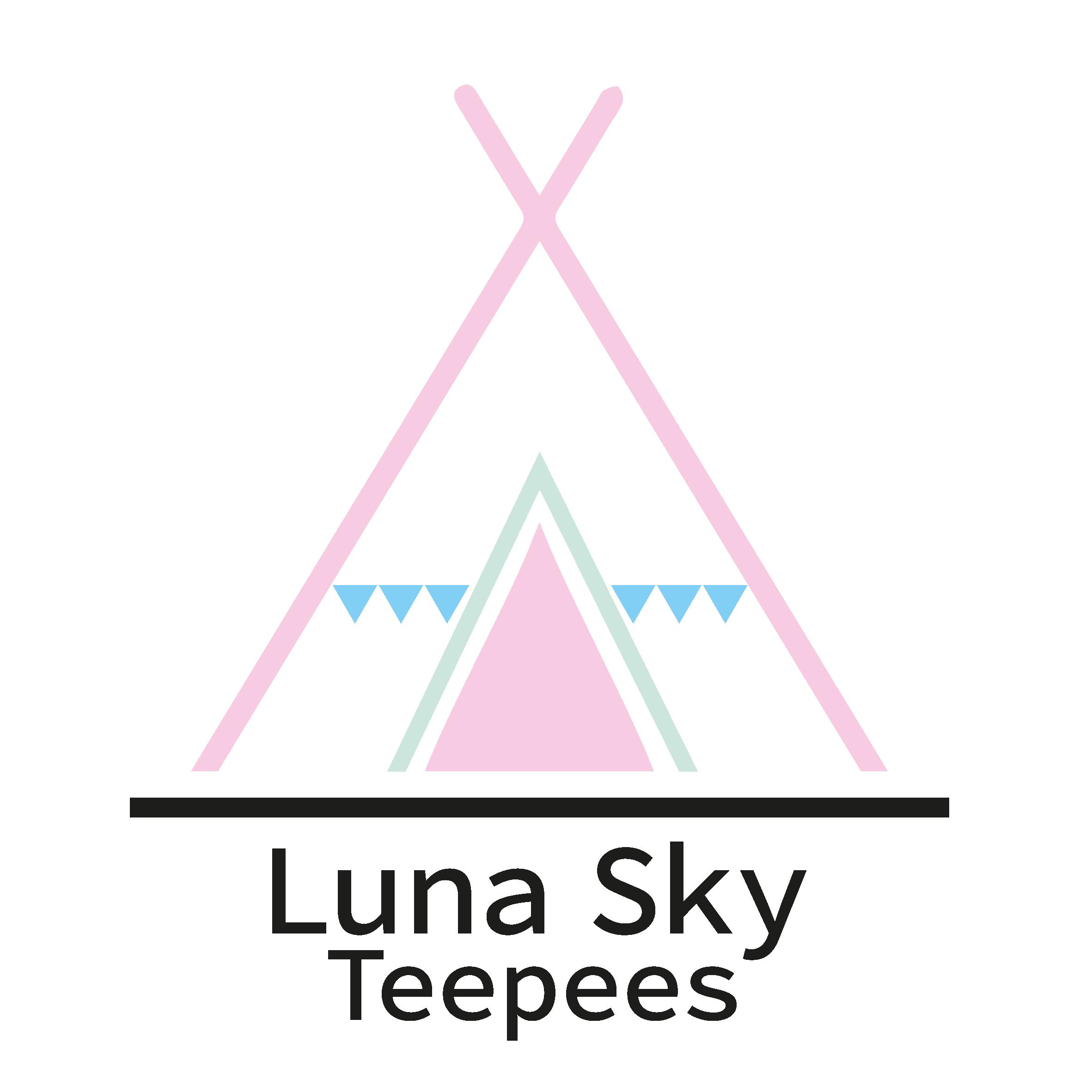 Luna Sky Teepees Logo