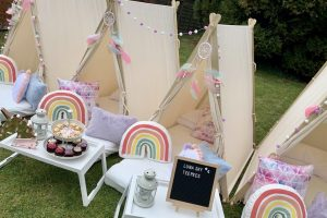 Unicorns & Rainbows Garden Party